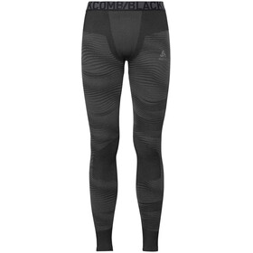Odlo Suw Performance Blackcomb Leggings Heren, black-odlo concrete grey-silver